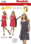 Misses´ Jiffy® Reversible Wrap Dress