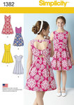 Girls´/Girls´ Plus Dress with Back Variations