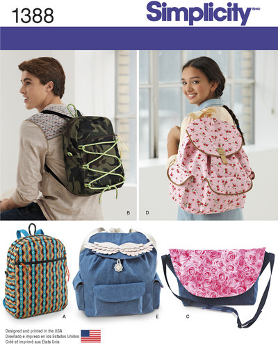 Backpacks and Messenger Bag