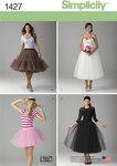 Misses´ Tulle Skirt in Three Lengths
