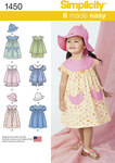 Toddlers Dress, Top, Panties and Hat