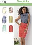 Misses´ Slim Skirt in Two Lengths