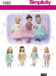 18 inches Doll Clothes with Trim Variations