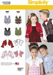 Child´s Vest, Bolero and Bow Tie