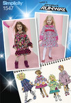 Toddlers´ and Child´s Project Runway Dresses