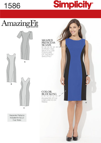 Misses´ and Plus Size Amazing Fit Dress