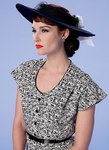 Button-Front, Flutter Sleeve Dresses and Sun Hats