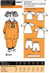 Onion 20039. Tunic, dress and berberpants.
