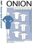 Onion 9007. Cocoon dress for knits.