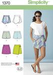 Misses´ Shorts, Skort and Skirt