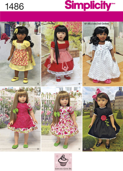 Vintage Style 18 inches Doll Clothes