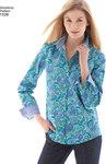 Misses´  Button Front Shirt