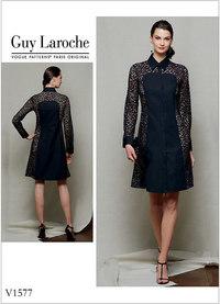 Petite Dress - Guy Laroche. Vogue 1577.