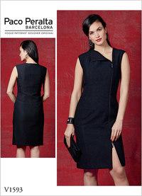 Vogue 1593. Misses´ Dress - Paco Peralta.