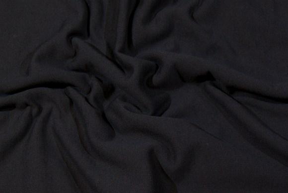 Black sweat-fabric
