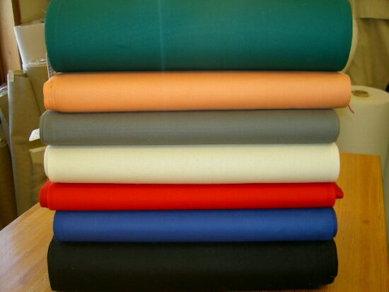 Canvas for sunchairs in uniform colors