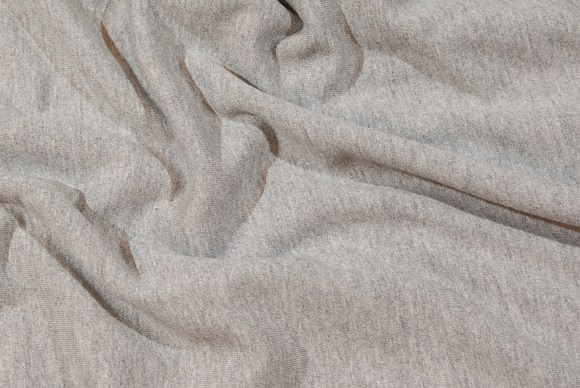 Light grey sweat-fabric pure cotton