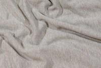 Light grey sweat-fabric pure cotton