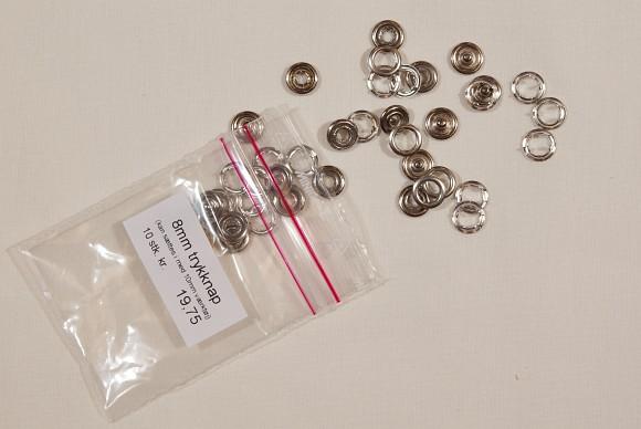 Press fasteners 8 mm