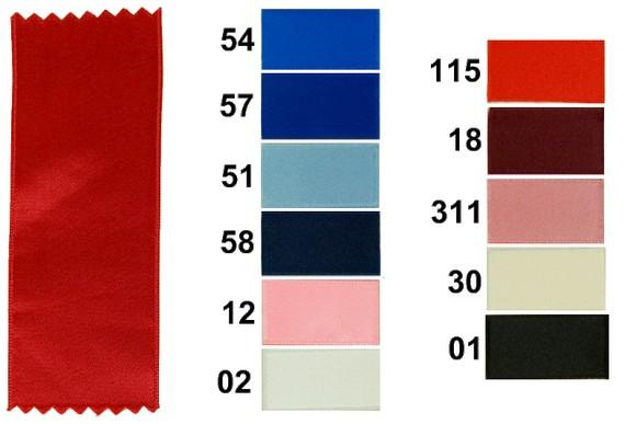 Sateen drapes 50 mm width