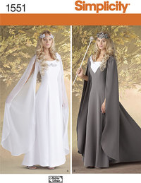 Elves costume. Simplicity 1551.