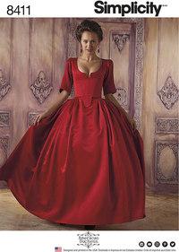 18th Century Costume. Simplicity 8411.
