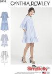 Simplicity 8414. Dress By Cynthia Rowley.