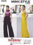 Simplicity 8426. and Plus Size Jumpsuit by Mimi G.