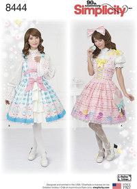 Lolita Costume. Simplicity 8444.