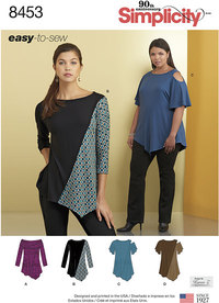 Knit Tops. Simplicity 8453.