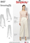 Simplicity 8457. Amazing Fit Trousers.