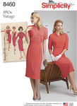 Simplicity 8460. Vintage Dress and Jackets.