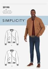 Jacket. Simplicity 9190.