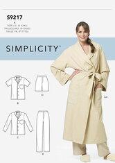 Robe and Pajamas. Simplicity 9217.