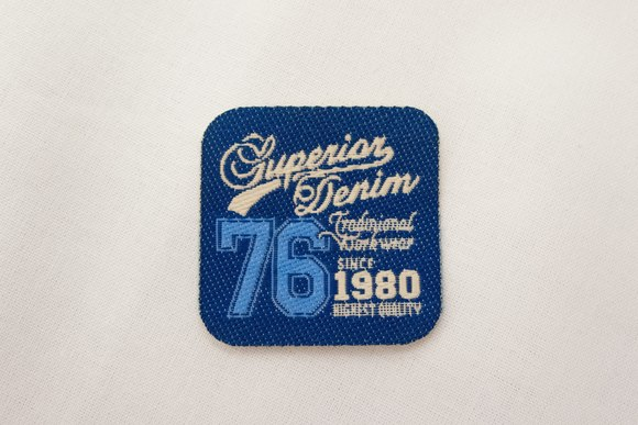 Superior denim patch 3x3cm