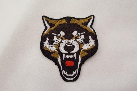 Wolf patch 6x8cm