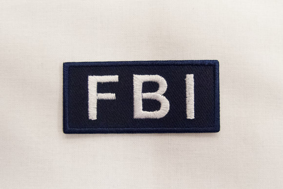 FBI patch 3x6cm