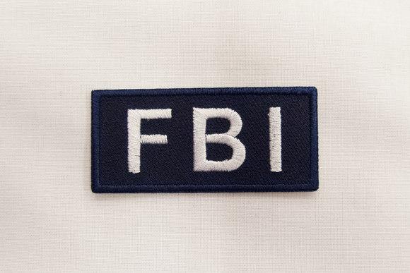 FBI patch 3x6cm