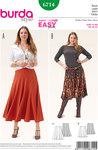 Panel Skirt, Full Skirt