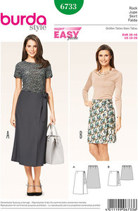 Burda pattern: Skirt, Wrap Skirt