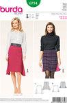 Skirt, Side Godets