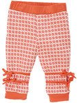 Great pants for romping and crawling. The cut and fabric guarantee a comfortable fit. Keep them simple or add whimsical detail. The jeans stitching on the pants is a fresh, new feature..