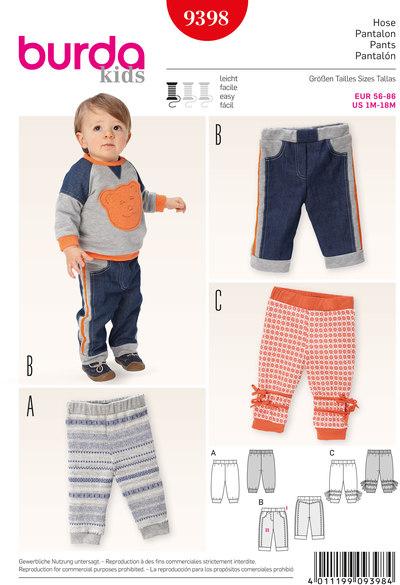 Pants, Elastic Waist Pants, Jogging Pants