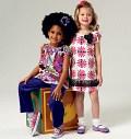Butterick 5776. Girls Top, Dress, Shorts, Pants and Bag.