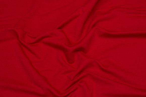 Lightweight sweatshirt fabric in red