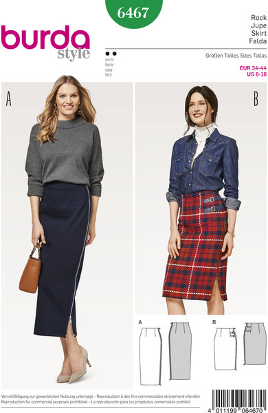 Skirts with side slit