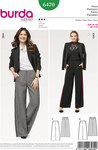 Classic dress pants with width