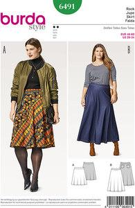 Burda pattern: Skirt