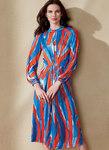 Raglan-Sleeve, Waist-Pleated Dress - Rachel Comey - Rachel Comey