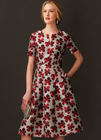 Vogue pattern: Fit-And-Flare Dresses with Waistband and Pockets